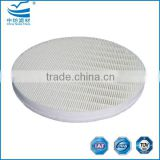 Mini-pleated high efficiency HEPA filter cartridge