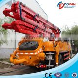 Mini concrete pump truck 24m long boom length with best price for sale