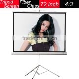 hot selling Portable 4:3 tripod movie screen