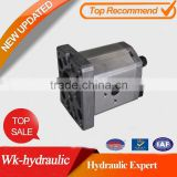 Hydraulic oil gear pump of WK-Hydraulic P/N:WAP1B0** interchangeably marzocchi gear pump P/N:ALP1-D-*