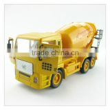 YLcv02 New 1:50 construction engineering alloy scale truck model,metal cement mixer toy truck,diecast concrete mixer truck toy