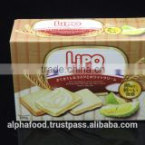 Vietnam Delicious Good Price LIPO 100G Durian Egg Cookies for Snack and Picnic