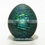 Wholesale colorful art glass ball glass egg models