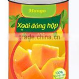 Vietnam Canned Fruits Slice Mango in Syrup