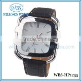 3 ATM water resistant business wrist watch for men with stainless steel watch case