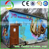 Amusement Park truck mobile mini 5d cinema with cabin 7d cinema,5d cinema in coin operated games