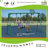 "KAIQI ""A"" children double swing set park swing outdoor play game.. HAPPY PLAY SET"