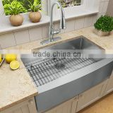 New Premium Farmhouse Apron Front Stainless Steel 33 inch Singe Bowl Kitchen Sink For USA Canada                                                                         Quality Choice