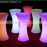 colors changing battery powered led bar furniture with led light party tables and chairs for sale