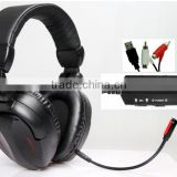 MIC Mute Switch vibration volume 2.1 stereo referee headset for soccer