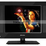 "15"",17"",19inch LCD TV/12 Volt DC ATV DTV/USB Suport video/VGA/YPbPr/Cheap Chinese tv sets/flat tv"