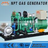 10kw/15kw /20kw/25kw/30kw natural gas generator from Weifang factory with canopy and CHP