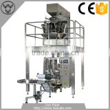 Pack 50g to 500g Peanuts cashew packing machines with 10 heads weigher and 320 VFFS packing machine
