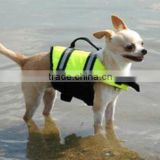 Top quality nice design neoprene nylon float dog life jacket