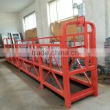 building cleaning equipment zlp suspended working platform