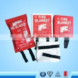 EN1869 Fiberglass fire blanket using for supermarket, fire blankets for sale