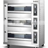 9 trays gas modular deck oven ideal for baking pizza/bread/cake/cookies