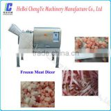 Capacity of 2000 kg/h, industrial frozen meat processing machine, DRD450 Frozen Meat Dicer