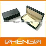 Best Sell factory custom made black fountain pens leather gift box (ZDS-F345)