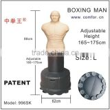 boxing sandbag mini punching bag grappling dummy with adjustable height