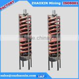 Factory Price Mineral Spiral Chute, Spiral Plant for Iron Sand Separation