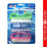 3pcs Designer Nail Clipper Set, Nail Brush Set For One Dollar Item