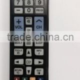 High Quality Black 45 Keys AA59-00600A LED/LCD TV REMOTE CONTROL for SAMSUNG with Back light