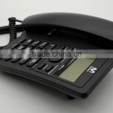 SC-2010- AP Analog Phone(Caller ID Phone with 16 digit LCD, FSK/ DTMF compatible, LCD backlight)