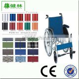 Aluminum Lightweight Children Manual Wheelchair with reclining high back 160 degree adjustable