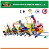 High quality attractions of amusement park electric trains with track or trackless for sale