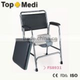 Rehabilitation Therapy Supplies chair for the disabled hot sale product Commode wheelchair