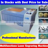 Hot Sale Mini Size Co2 Lser Engraving Machine for Wood,Stone,Glass,Crystal,Ceramic,Rubber,Bamboo,etc.