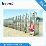 Full-automatic electric retractable gate