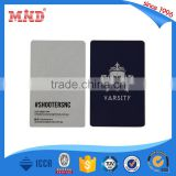 MDH306 CR80 size rfid lock hotel access card for wholesales