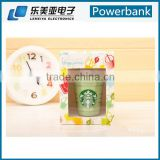 Coffee cup power bank and ice cream backup battery charger power bank