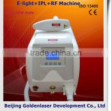 2013 New style E-light+IPL+RF machine www.golden-laser.org/ hair streaks for black hair