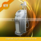 Fast efficiency Dark&colored tattoo removal eight+rf+laser multi-functional beauty machine-YH-III (CE Approve)
