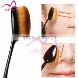 OEM Cosmetic Brush Set tooth shap custom logo best makeup brushes