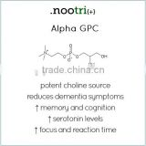 Highly Potent Nootropic Capsule Dosage 300mg/400mg/500mg Alpha-GPC Supplement