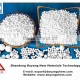 lowest price activated alumina ball adsorbent 1-3mm 4-6mm 5-8mm
