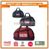 SMETA Sedex audit 4p factory large gym sport duffle bag with hook and loop handle for wholesale