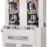 D-682B one cold and one hot backpart moliding machine