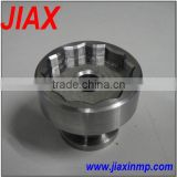 High Precision CNC machined stainless steel construction machinery parts with drawing parts