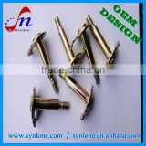 High quality high precision zinc plated screw spike with 100% inspection