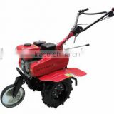 three wheel working farm machine rotary cultivator weeder