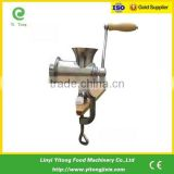 Stainless steel manual meat wrapping machines