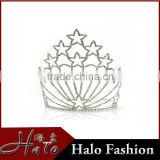 Full Round Princess Rhinestone Pageant Crowns Halo H172-126