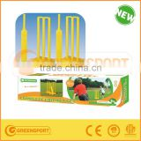 plastic complete cricket set include bat stumps bails/ cricket bat