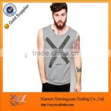 Gym clothing 2017 latest fashion tank top design basic O-neck tank tops for men wholesale
