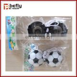 Cheap football model plastic small toy telescope